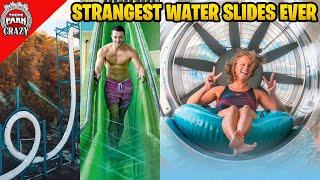 Top 10 STRANGEST Water Slides