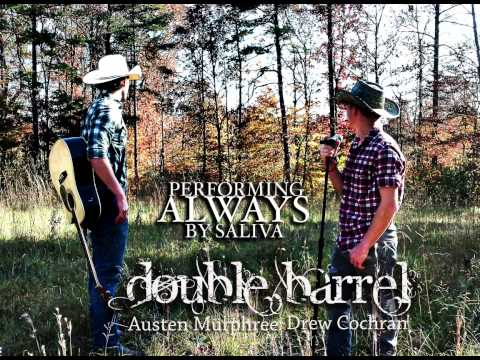 Double Barrel performing Always (Cover)