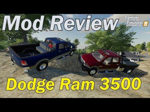Blue Modding (Ram Rebel and Dodge Ram 3500) :: Farming Simulator 19