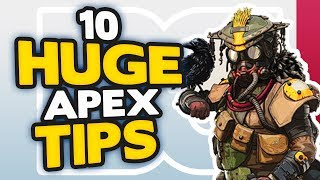 Apex Legends 10 HUGE tips and tricks on how to get BETTER | Apex Legends Tips