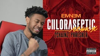 Eminem - CHLORASEPTIC Remix REACTION/REVIEW