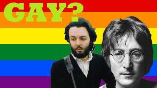 Are They Gay? - John Lennon and Paul McCartney