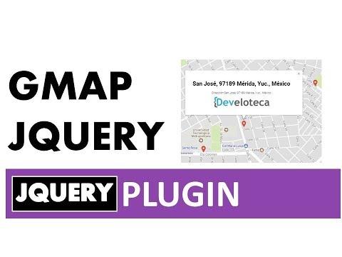 Marcadores en Google maps con Gmap jQuery únicamente etiquetas HTML (Fácil, rápido y efectivo)