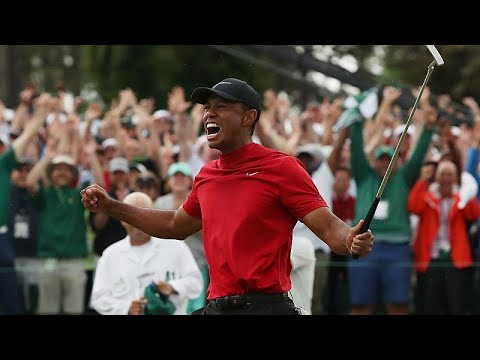 Tiger Woods Crowned Masters In First Major Victory In 11 Years – Watch