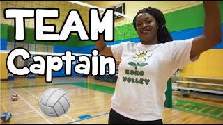 How To Become Your Volleyball TEAM CAPTAIN!