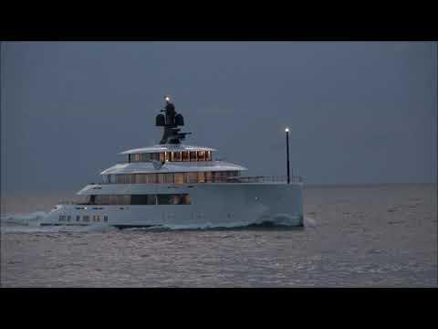 Feadship's SYZYGY 818 having sea trials