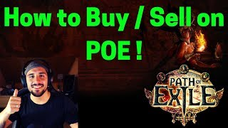 [Beginner's Guide] How to Buy / Sell on POE ! PATH OF EXILE