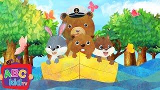Row Row Row Your Boat (2D)   Cocomelon (ABCkidTV) Nursery Rhymes & Kids Songs