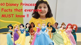 Disney Princess Facts That You MUST Know