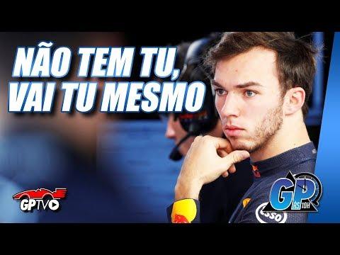 Gasly segue na Red Bull, mas por pura questão de sorte | GP às 10