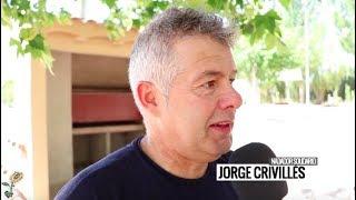 Recibimiento a Jorge Crivillés en Pozoamargo- lamanchuelaaldia.com