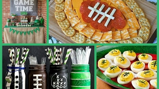 Best Super Bowl Party Ideas - Football Party Ideas