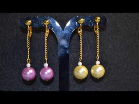 PandaHall Video Tutorial zu einfachen Perlenohrringen