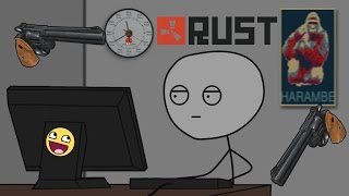 What it feels to have a new gun update in Rust