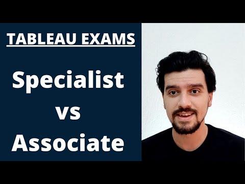 TABLEAU DESKTOP SPECIALIST VS. CERTIFIED ASSOCIATE ...