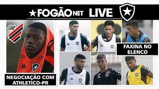 LIVE | Botafogo vive novela com saída de Matheus Babi e anuncia férias a seis jogadores