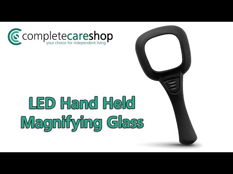 LED Magnifying Glass On The Go