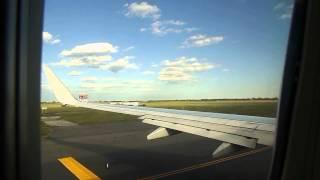 Caribbean Airlines flight 525 JFK departure Boeing 737-800