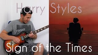 Harry Styles - Sign of the Times Guitar Cover קאבר חדש!