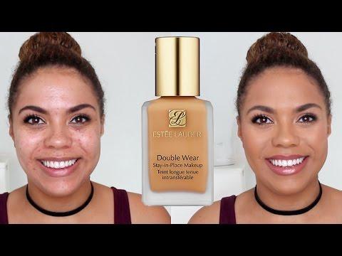 Estee Lauder Double Wear Review Oily Skin Diaries | samantha jane