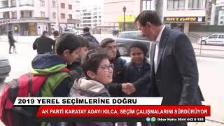 Hasan Kılca otobüste vatandaşlarla sohbet etti