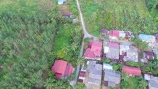 Drone footage Dji phantom 3se around village