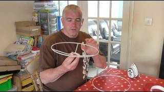 How To Make A Fabric Lamp Shade