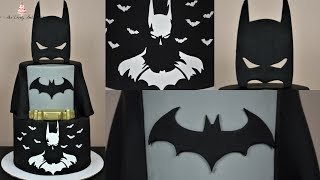 Batman Justice League Cake Tutorial!