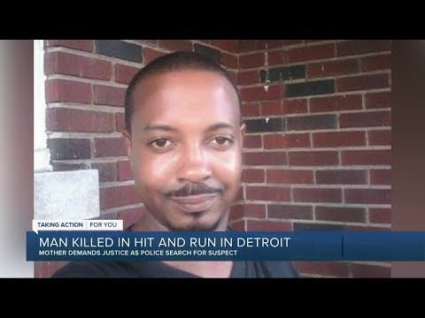 Man killed in hit-and-run in Detroit on Christmas Eve