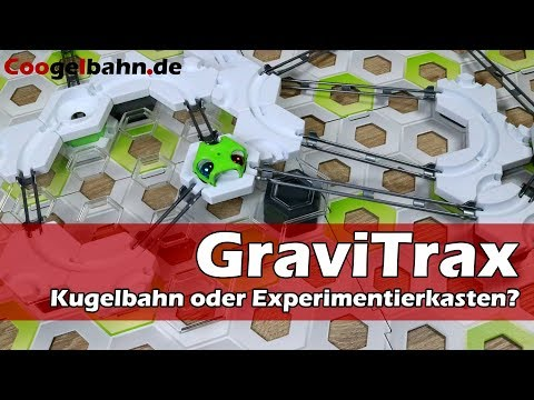 GraviTrax Kugelbahn 🔥 [Unboxing + Aufbau + Test]   Der Kugelbahn-Experimentierkasten