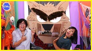 Halloween Scary Monster Door Decorating Challenge!!!