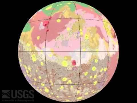 surface mapping Mars video