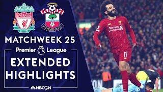 Liverpool v. Southampton | PREMIER LEAGUE HIGHLIGHTS | 2/1/2020 | NBC Sports
