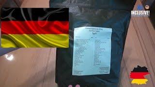 Сухпай Combat Ration TYP X Германия. TREK´N EAT Сухой паёк.