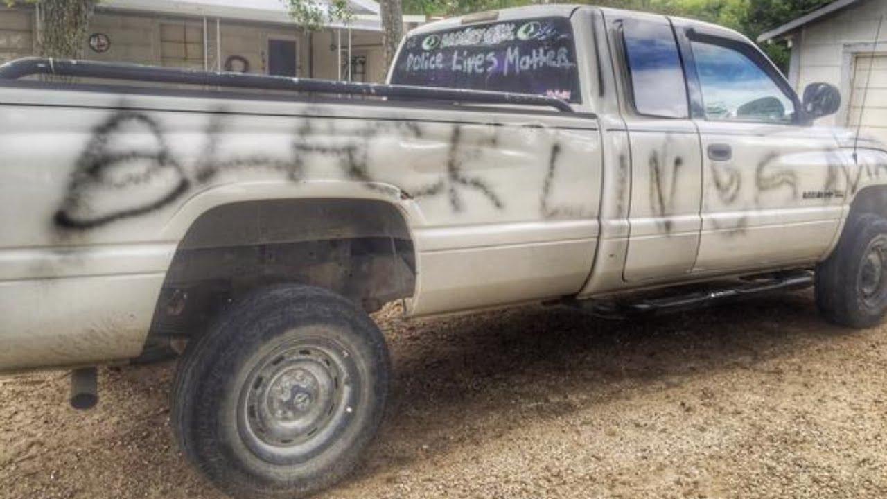 Man Trashes Own Truck, Blames Black Lives Matter thumbnail