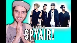 REACTING TO SPYAIR!!!