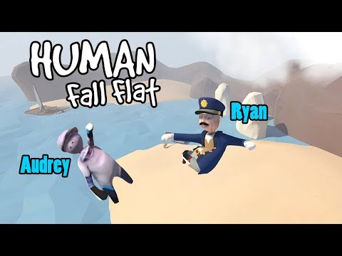 SUCH A FUNNY GAME! | Human Fall Flat w/ RadioJH Games! | MicroGuardian
