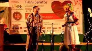 preview picture of video 'Fiesta benéfica en Prado del Rey: Grupo de teatro Sin Complejos 3/5'
