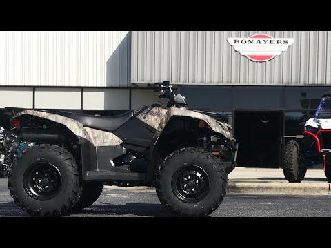 2021 Suzuki KingQuad 400FSi Camo in Greenville, North Carolina - Video 1