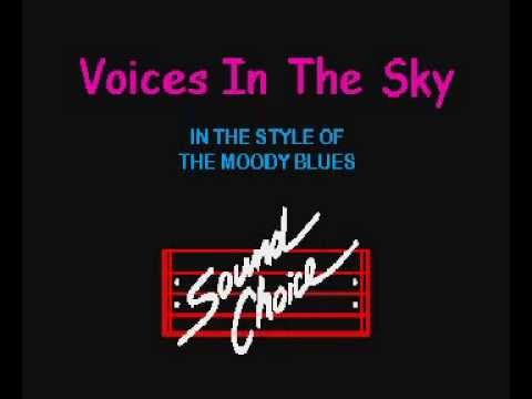 Moody Blues - Voices In The Sky Karaoke