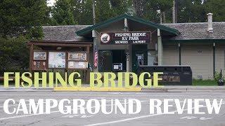 Fishing Bridge RV Park, Yellowstone National Park