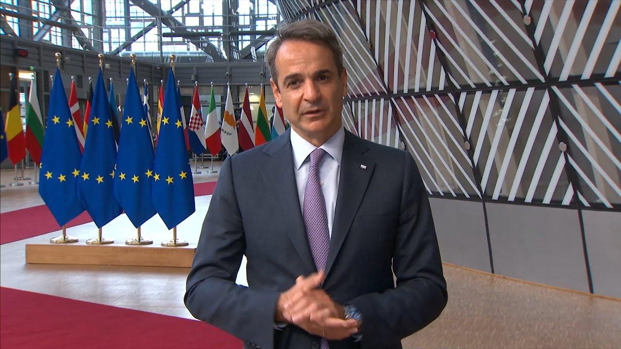 Στις Βρυξέλλες για τη Σύνοδο Κορυφής ο πρωθυπουργός