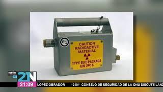 Encuentran fuente radiactiva en la delegación Álvaro Obregón