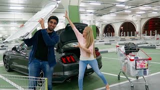 Ford Mustang GT : Will it FIT ? RIDICULOUS Challenge !!
