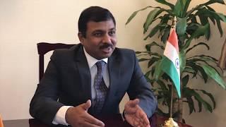 Entrevista al Embajador de la India en México, Excelentísimo Sr. Muktesh Kumar Pardeshi.