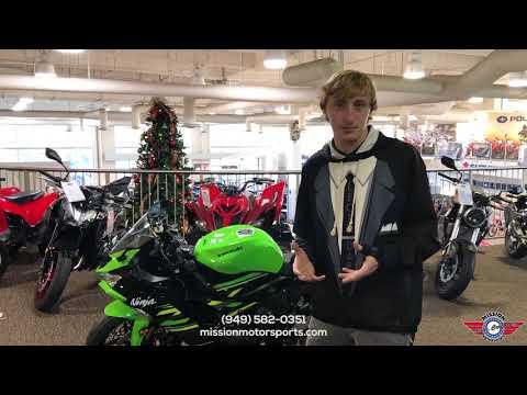 2019 Kawasaki Ninja ZX-6R ABS in Irvine, California