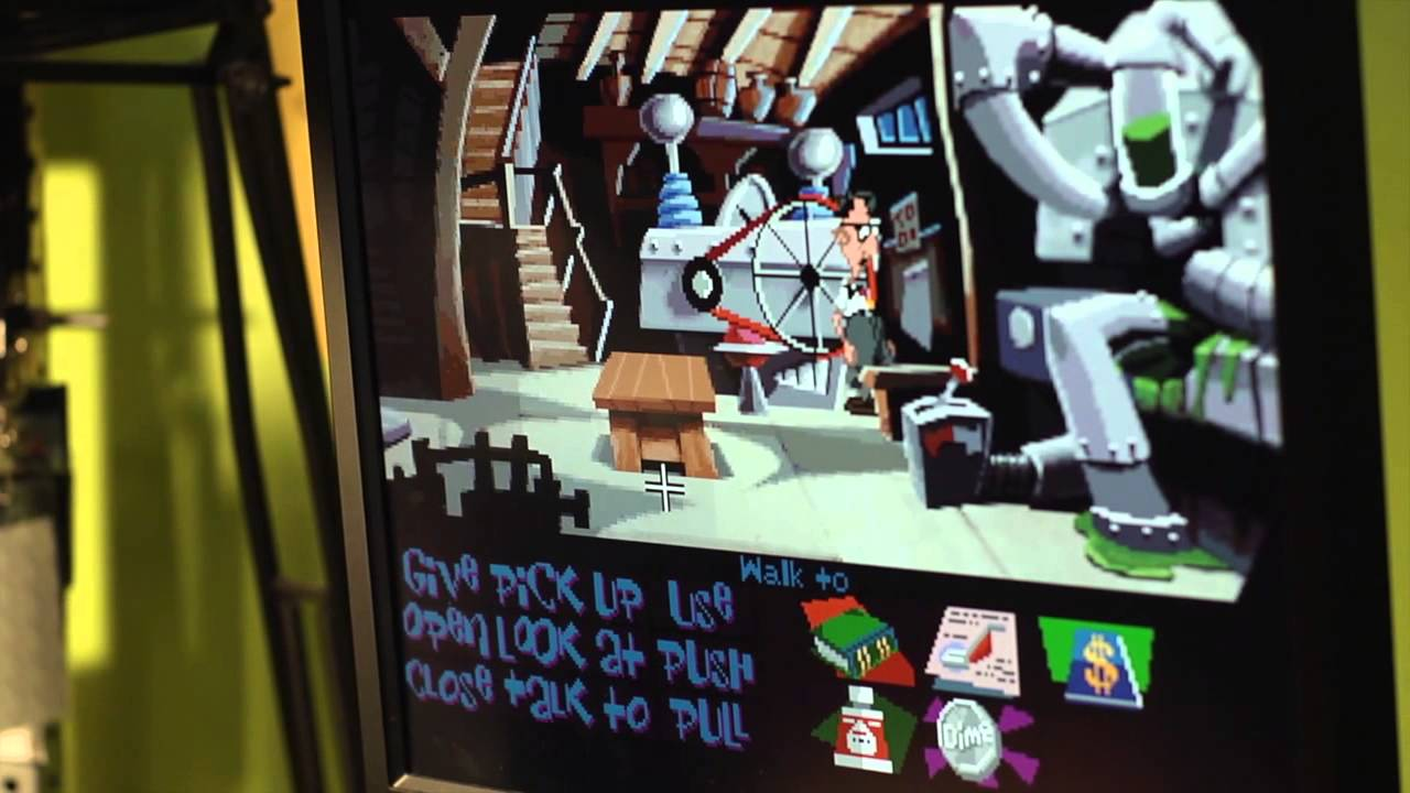 Tim Schafer Hasn't Played Day Of The Tentacle In 10 Years. Watch Him Play It Now