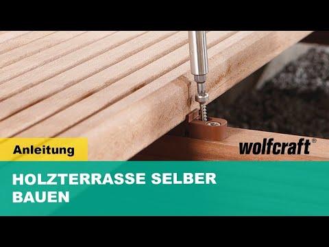 Holzterrasse selber bauen - Schritt für Schritt erklärt | wolfcraft