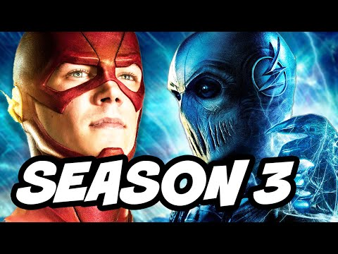 The Flash Season 3 Black Flash Savitar Mirror Master Rogue War Breakdown