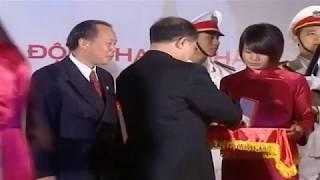 Ông Nguyễn Sinh Hùng trao Huân chương cho Bảo Hiểm Bảo Minh